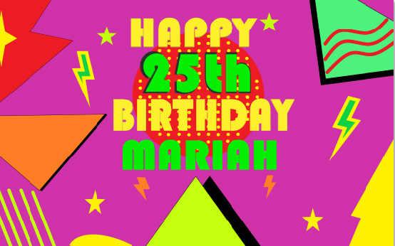 7x5ft memphis padrão feliz aniversário festa parede estrelas de ouro personalizado diy personalizado foto pano fundo vinil 220cm x 150cm