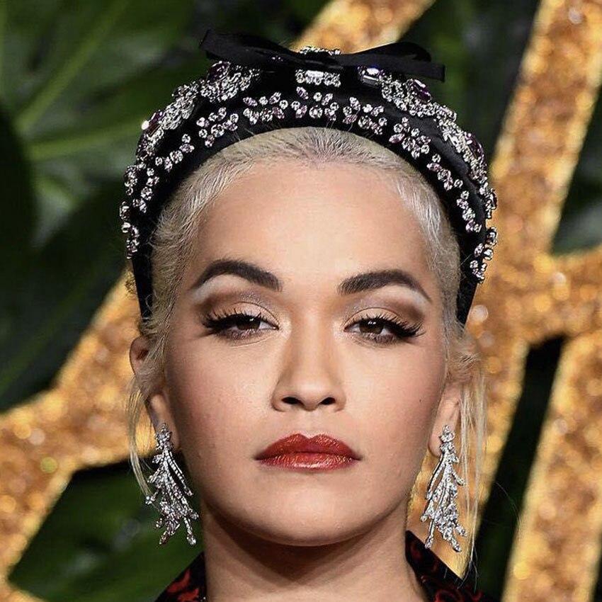 Crystal Bridal Hair Accessory Wedding Rhinestone Luxury Hairband Birthday Girl Crown Woman Accessories Luxury Jewelry Tiara 2019 in Women 39 s Hair Accessories from Apparel Accessories