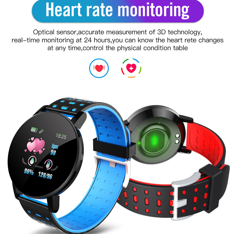 Image 3 - Fitness Bracelet Blood Pressure Measurement Smart Band Waterproof Fitness Tracker Watch Women Men Heart Rate Monitor SmartbandSmart Wristbands   -