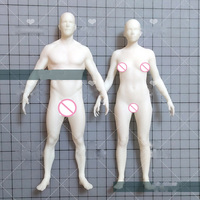 TS0065 Silicone mould Exclusive men and women body mold human clay mold silicone mold Ruantao aroma stone molds