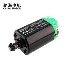 ChiHai Motor CHF-460SA-11340 kurze Achsen hohe geschwindigkeit AEG Getriebe Motor für J8 J12 J13 P90 11.V 34000rpm spielzeug DIY
