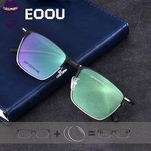 Квадратные мужские коррекционные диоптрические очки оптическая