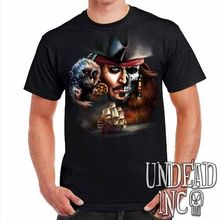 Pirates Of The Caribbean Undead Jack Sparrow Black Pearl - Mens T Shirt 2019 New 100% Cotton T-Shirts Men new arrival gudi 9115 pirates of the caribbean series black pearl jack sparrow figure building block toys