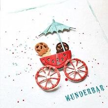 New Design Metal Cutting Dies Seaside Umbrella Drink Cup Orange Fruit Scrapbook Album Paper Card Craft Embossing Die Cuts