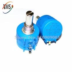 1 Uds 3590S-2-103L 3590S 10K ohm 103 3590S-2-103 3590S-103 precisión potenciómetro multivuelta 10 anillo ajustable resistencia