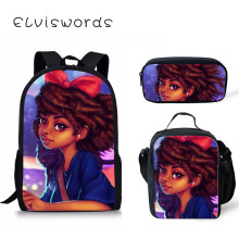African Girls Cute School Bag Girl for Teenager Kids Backpack Students Scool Fashion Art Bookbag Satchel