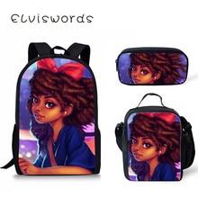 купить African Girls Cute School Bag Girl for Teenager Kids Cute School Backpack Students Scool Bag Fashion Bag Art Bookbag Satchel дешево