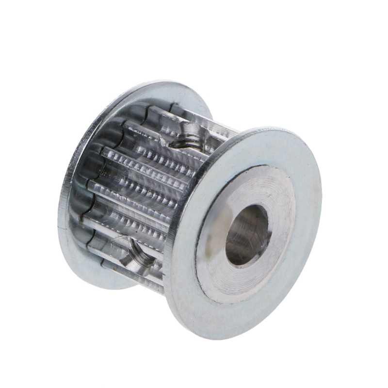 HTD5M 5M aluminium pasek rozrządu koło pasowe 15 zęby 8mm otwór 16mm szerokość