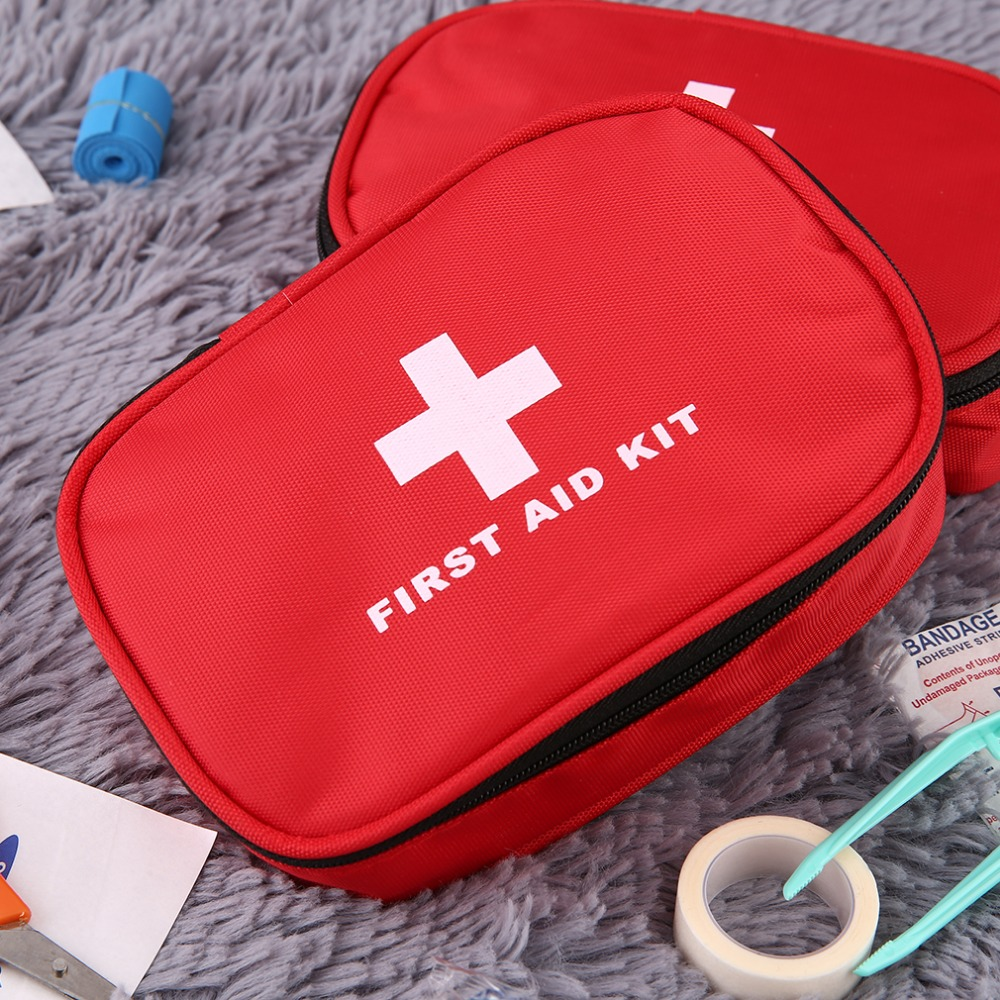 (12PCS) Outdoor Sports Travel Camping Medical First Aid Medical Mini With Kit Bandages Tourniquet Medicine Chest Free Shipping