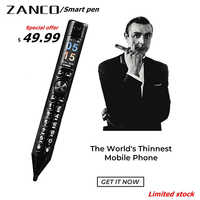 ZANCO Smart Pen World Thinnest Mobile Phone -Special offer easy to carry phone Bluetooth headset stylus Smart pen