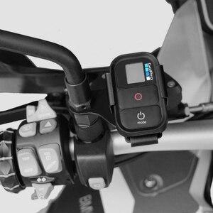 Image 5 - Per BMW R1200GS F700GS F800GS G310R G310GS R1250GS F750GS F850GS R 1200 Anteriore Staffa Per GoPro Telecomando Parti Del Motociclo