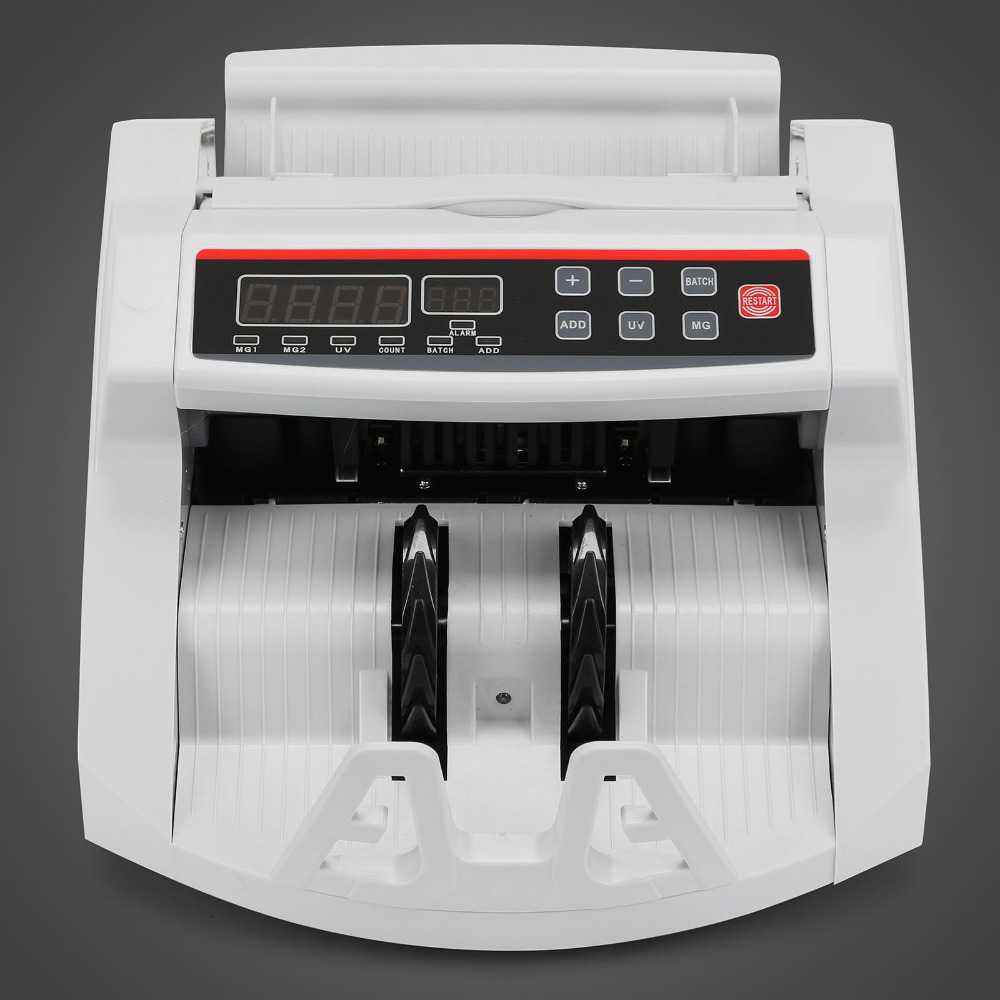 Counterfeit Fake Money Currency Note Bill Cash Banknote Counter Detector Counting Machine|Garment Steamer Parts| |  - title=
