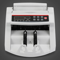 Counterfeit Fake Money Currency Note Bill Cash Banknote Counter Detector Counting Machine