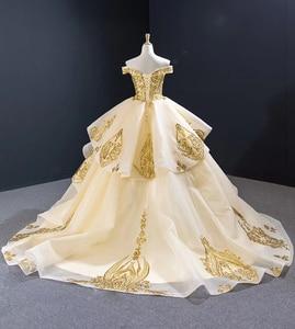 Image 2 - J67024 Jancember נשים שמלות לחתונה מסיבת עבור אורח מתוקה כבוי כתף תחרה בתוספת גודל ערב שמלות Vestido Noite