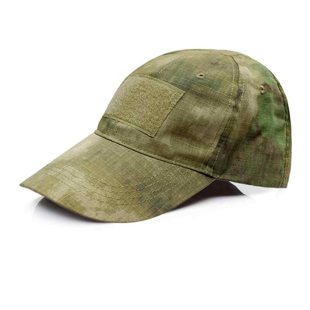 Nuevo Camo ajustable camuflaje gorra de béisbol hombres caza al aire libre camuflaje sombrero para jungla táctico senderismo Casquette sombreros