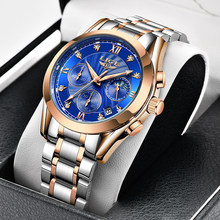 2021 New LIGE Classic Women Quartz Watch Waterproof Stainless Steel Watchstrap Fashion Women Watch Gift Date Clock Dropshipping