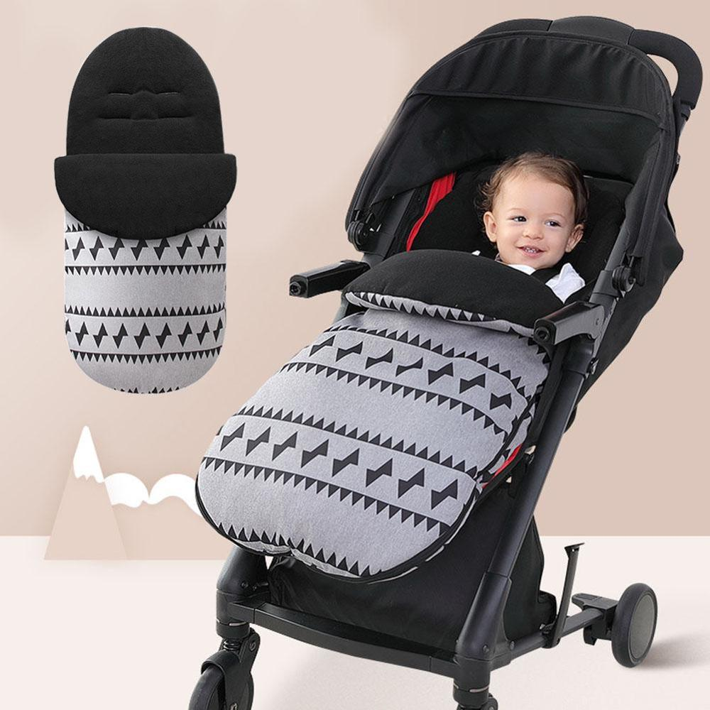Winter Baby Stroller Sleeping Bag Footmuff Sack Baby Stroller Sleeping Bag Stroller Windproof Waterproof Warm Foot Cover