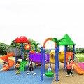Grote Outdoor Speelgoed Combinatie Kleur Heldere Speeltoestellen Veilig KINDEREN Glijbaan Combinatie