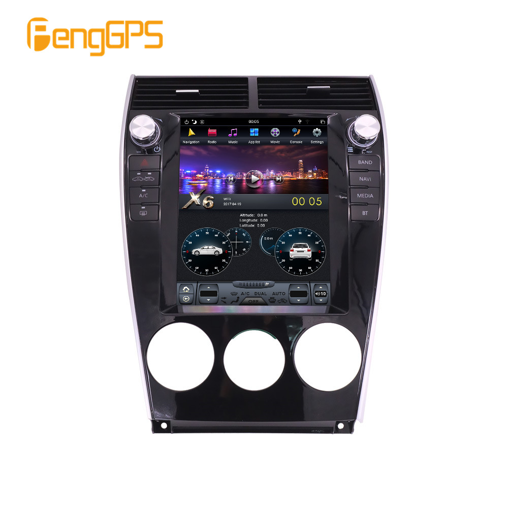 Autoradio For Mazda 6 2004 Android Radio 2008 2009 Car Multimedia Player Tesla Screen PX6 Stereo Audio GPS Navigation Head unit