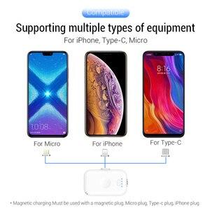 Image 5 - PZOZ Power Bank MINI 1200mAh Poverbank ภายนอกแบตเตอรี่ Charger แบบพกพาสำหรับ iPhone X 11 MAX Samsung S10 Xiaomi redmi Powerbank