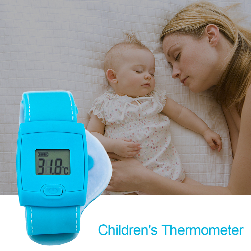 Digital Fever Thermometer Smart Thermometer Bluetooth Children Children's Thermometer 4.3 Inch LCD Display For Baby Health
