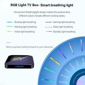 Image 3 - VONTAR A95X F3 światło RGB TV, pudełko z systemem Android 9.0 4GB 64GB 32GB procesor Amlogic S905X3 8K 60fps Wifi odtwarzacz multimedialny A95XF3 X3 2GB16GB TVBOX