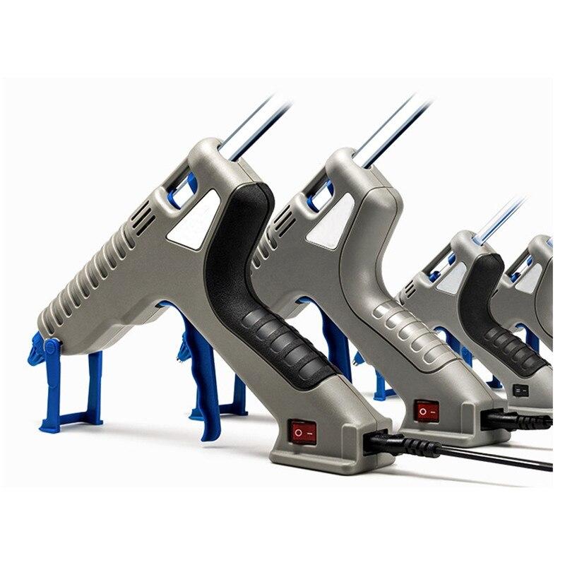 30W/40W High Temp Hot Melt Glue Gun Industrial Heat Gun Graft Repair 2cm Muzzle 7mm Stick Dual-temperature Control DIY Tool