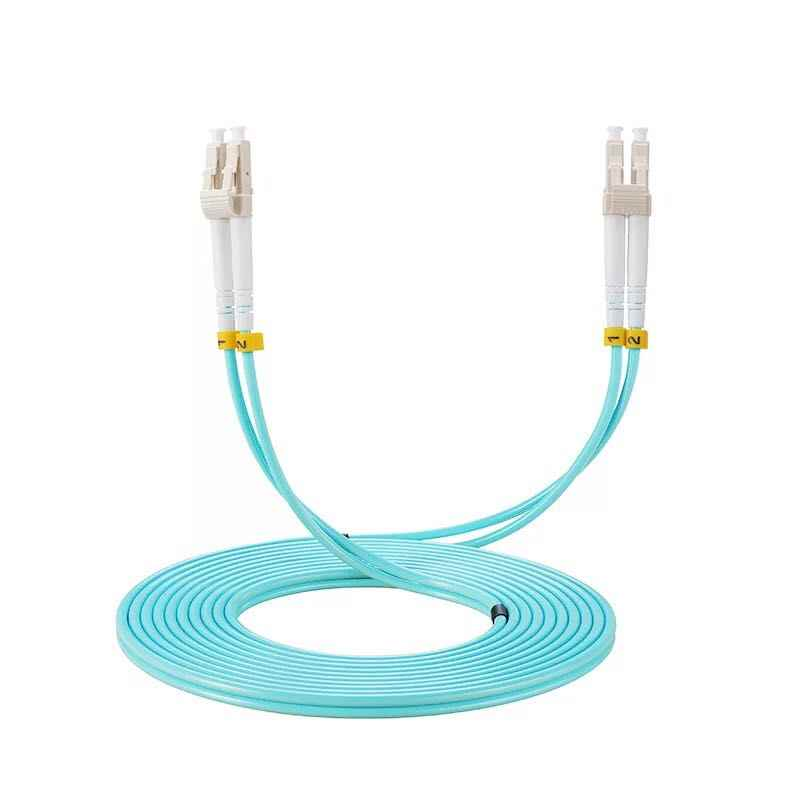 10PCS OM3 LC-LC UPC 3M Multimode Duplex 2,0mm oder 3,0 MM Lwl-patchkabel LC-LC faser optic patch kabel