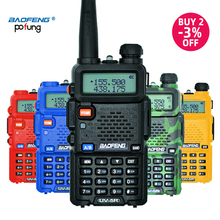 Baofeng UV 5R рация профессиональная CB радиостанция Baofeng UV 5R приемопередатчик 5 Вт VHF UHF портативная UV5R охотничий радиоприемник