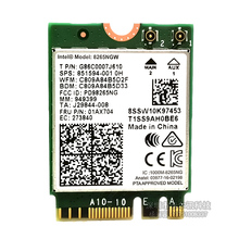 Für Intel 8265 AC 5G NGF 867Mbps WiFi Bluetooth 4,2 Drahtlose Karte 8265NGW 851594-001 01AX704 für lenovo X270T470T570E470E570