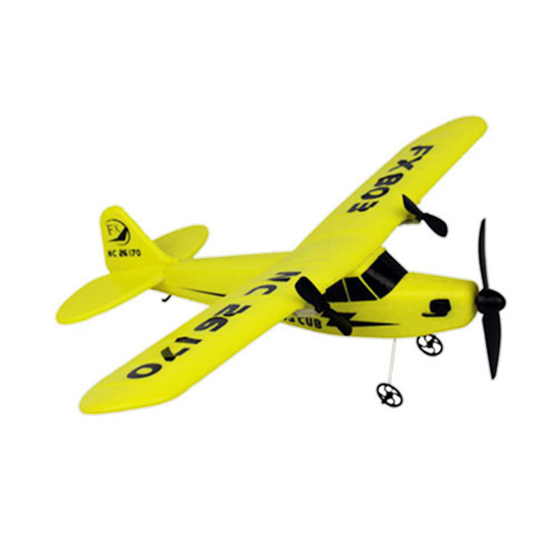 Rc Plane Rtf Kits Blue Red Yellow Engine Servo Aircraft Model Rc Planes Remote Control Airplanes Foam Plane Radio Controlled Toy image