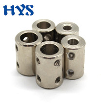 2pcs CNC Motor Shaft Coupler 4/5/6/8/10/12mm High Strength Steel Shaft Drive Motors Coupling Extension Mechanical Transmission 2pcs cnc motor shaft coupler 4 5 6 8 10 12mm high strength steel shaft drive motors coupling extension mechanical transmission