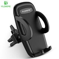 Автомобильный держатель для смартфона FLOVEME  универсальный держатель для вентиляционного отверстия  совместимый с iPhone  Xiaomi  Samsung