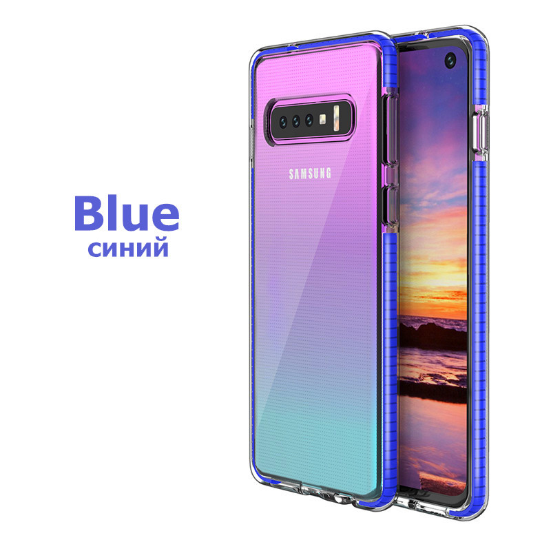 Armor Shockproof Clear Soft Case For Samsung Galaxy S20 Ultra S8 S9 Pius S10 Lite A21 A51 A71 A81 A91 Note 10 Pro 9 8 Back Cover