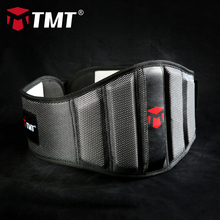 TMT gym gloves Lumbar Waist Support Trimmer Belt Unisex Exercise Weight Loss Burn Body Shaper Gym Fitness adjustable