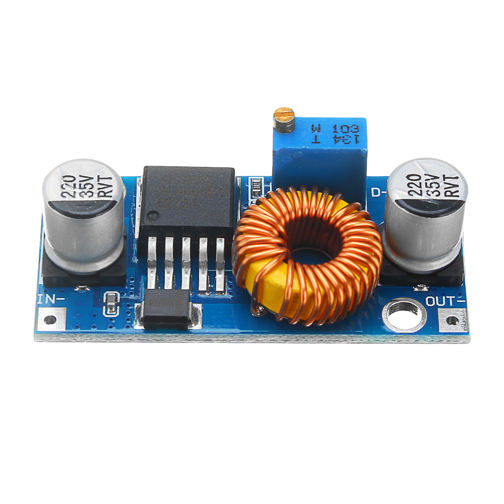LEORY 1PCS 5A XL4005 DC-DC Adjustable Step Down Module Power Supply Converter Circuit