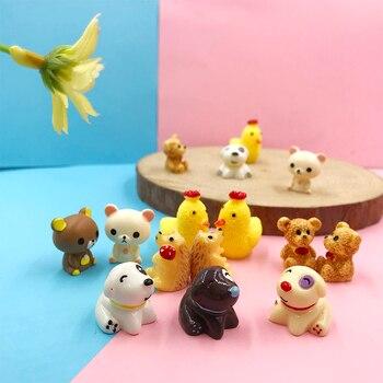 Mega Deals Pd5tc 10pcs Resin Animal Miniature Figurines Fairy