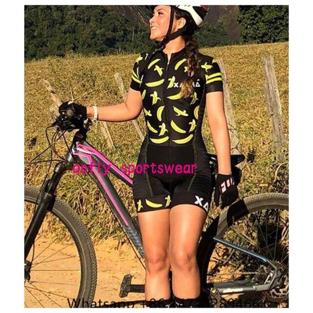 Xama pro equipe conjunto de ciclismo feminino pequeno macaco ciclismo camisa terno manga curta macacão triathlon roupas 6