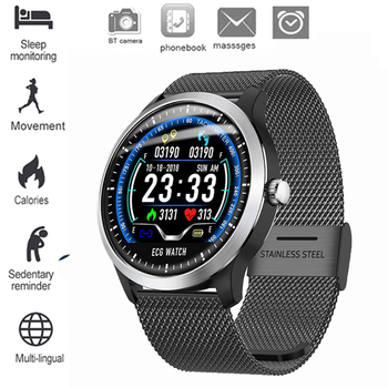 Luxury Mature Men Watches With Heart Rate Blood Pressure Monitor Sleep Tracking Pedometer IP67 Waterproof Bluetooth Smart Watch