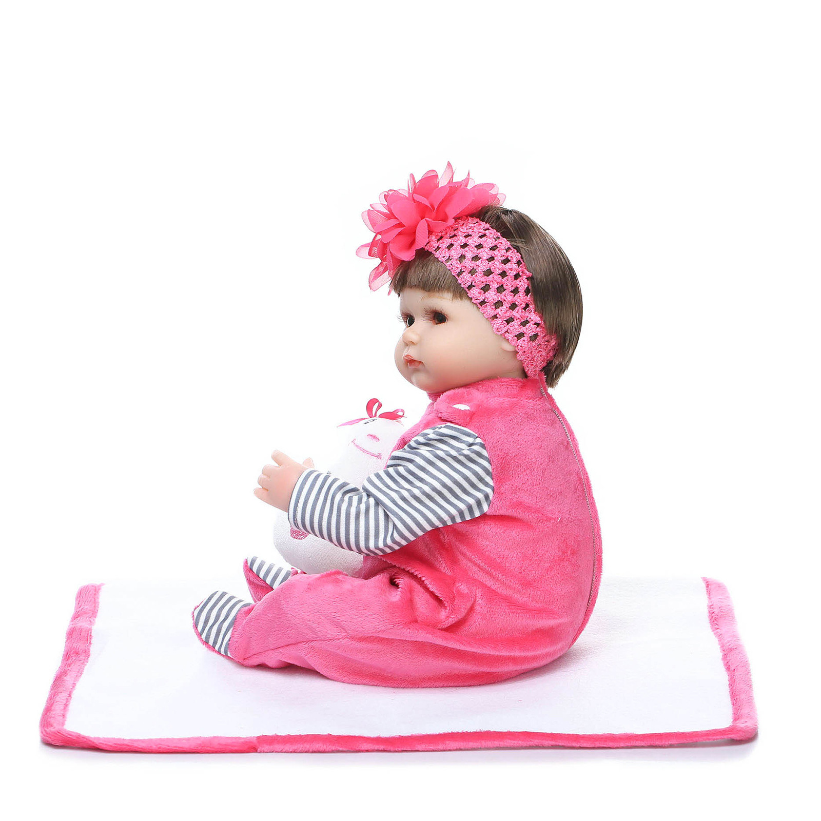 NPK AliExpress Hot Selling Model Infant Rebirth Soft Silcone Rag Baby Supply of Goods