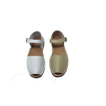 Sandal Avarca Frailera of Minorca/Leather/Rubber Sole