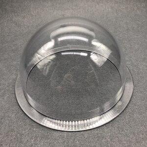 Image 5 - 180x93.4mm CCTV yedek yağmur geçirmez Anti Aging akrilik şeffaf kapak gözetim kameraları kabuk güvenlik Dome koruyucu konut