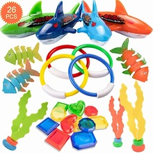 Children Creative Diving Toys Cute Shark Octopus Fish Pattern Toy for Swimming Pool Underwater Swimming