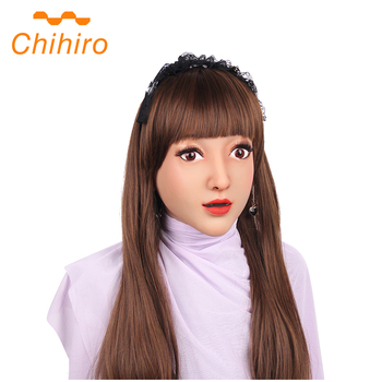 Soft Silicone Realistic Female Claire Head Mask Handmade Face For Crossdresser Transgender Drag Queen Halloween Cosplay 3G  - buy with discount