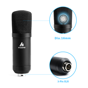 Image 4 - MAONO Condenser Podcast Microphone 3.5mm Cardioid Computer Mic With Tripod Stand for YouTube Skype Broadcasting Recording A03TR