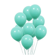 Turquoiseหนา10Pcs 12นิ้วหนา2.2Gงานแต่งงานตกแต่งบอลลูนHappy Birthday Partyบอลลูนพองฮีเลียมอุปกรณ์