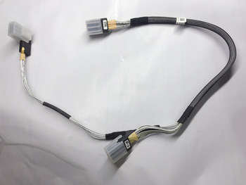 For DELL R310 R410 R415 server H700 H200 array card MINI SAS data cable 0N262J image
