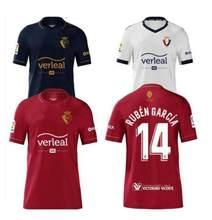 2020, 2021 CA Osasuna 10 R Torres 14 Ruben Garcia 9 Chimy Ávila Brandon Adrian de casa rojo lejos camiseta de fútbol