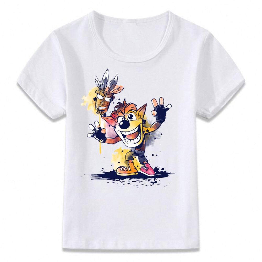 SP-yro The Dragon Character Kids T-Shirts Long Sleeve Tees Fashion Tops for Boys//Girls