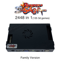 3D Pandora Saga Box 2448 in 1 Familie-Version bord 40p arcade PCB für freies spielen Münze HD video Jamma spiele HDMI VGA Motherboard